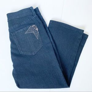 NYDJ  Not your Daughter's Cropped Jeans